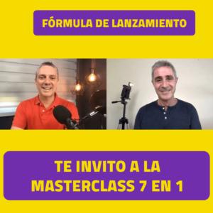 Fórmula de Lanzamiento - Luis Carlos Flores y Javier Cabrera